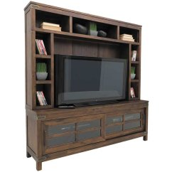 Sealy Living Room Furniture Track Lighting Ideas New Castle 74 Inch Tv Console / Hutch | 6268-870/-871 ...
