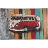 Metal Peace Bus Wall Decor | 123-130804 | T130804 | PRIME ...