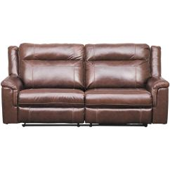 Sofa Headrest 2 Piece Black Leather Wyline Power Reclining With Adjustable