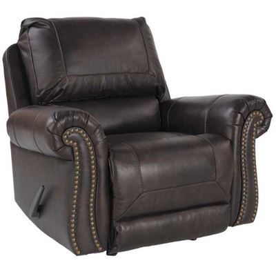 recliner chair with ottoman manufacturers traditional kitchen table and chairs best prices available afw bristan leather rocker