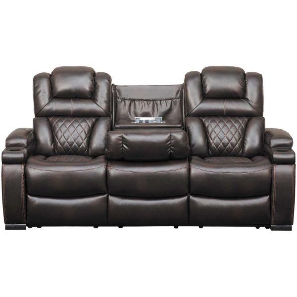 Warnerton Power Reclining Sofa With Drop Table 7540715