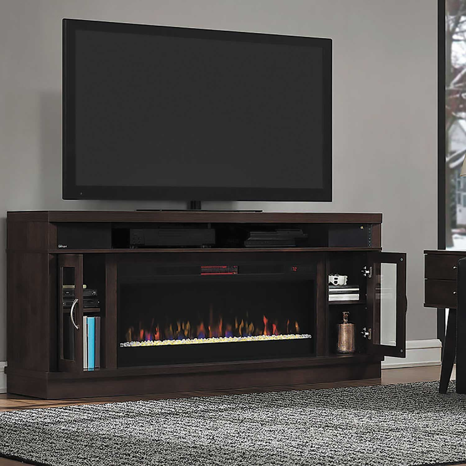 Deerfield Media Fireplace