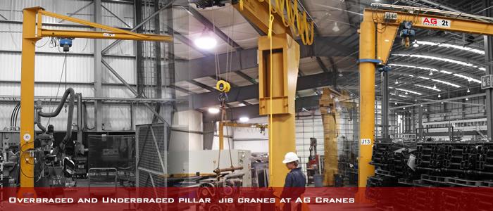 SWING JIB CRANES swinging arm jib crane installed and tested