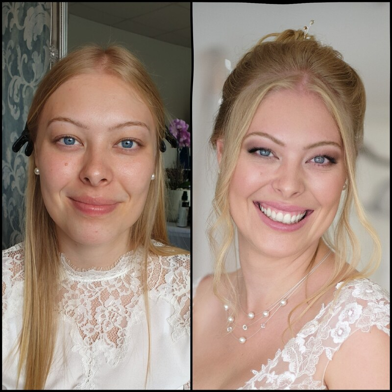 WEDDING  ANNA GLASER Makeup
