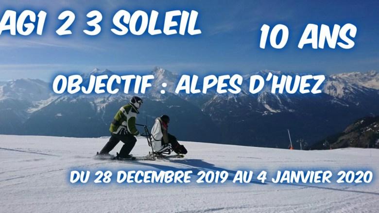 AG1 23 SOLEIL - 10ans - Objectif Alpes d'Huez