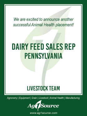 Dairy Feed Sales Rep