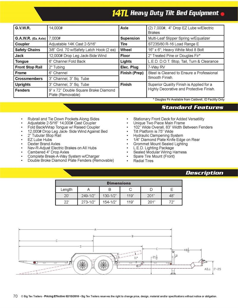 big tex gooseneck wiring diagram honeywell wireless room thermostat trailers 6 pin trailer connector for dump best library