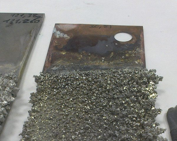Tin recovery