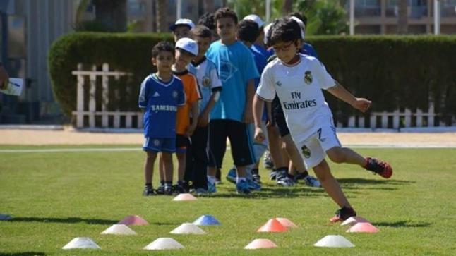 ريال مدريد ينظم تدريبا لفائدة أبناء أسر معوزة بأكادير