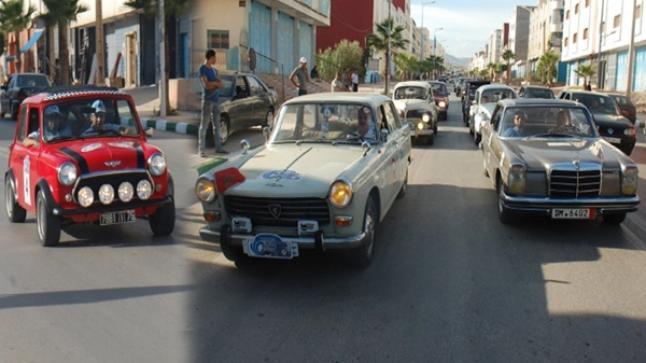 """انطلاق رالي """"ألف واحة """" لهواة السيارات العتيقة من أكادير"""