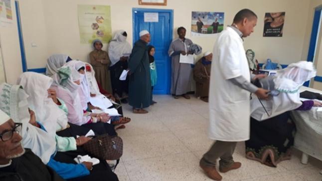 أزيد من 270 شخص يستفدون من حملة طبية باشتوكة أيت باها