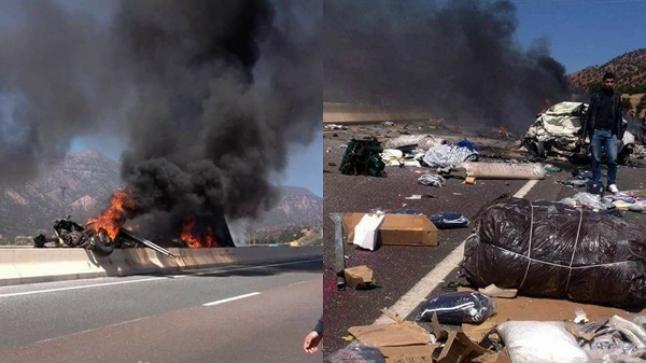 """سلطات أكادير تؤكد مقتل 6 أشخاص حرقا في """"فاجعة"""" أمسكروض"""