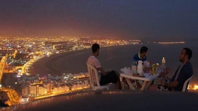 ليالي رمضان في مدينة أكادير