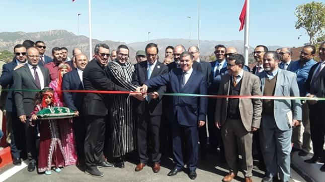وزير التجهيز يشرف على تدشين مشاريع البنية التحتية الطرقية بسوس