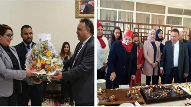 عامل إقليم الصويرة يحتفل بموظفات العمالة في عيدهن الأممي