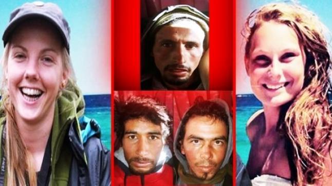"""الحكم بالإعدام في حق منفذي """"جريمة شمهروش"""" التي راح ضحيتها سائحتين"""