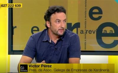Agaexar participa en el programa de la TVG A Revista