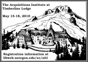 Aquisitions Institute at Timberline Lodge