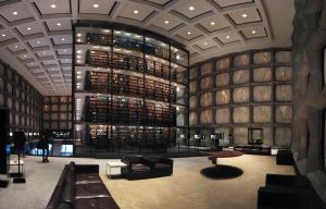 Beinecke Rare Book and Manuscript Library by Lauren Manning [CC 2.0 Generic] via Flickr