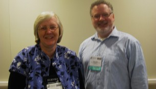 Connie Mead and Steve Oberg