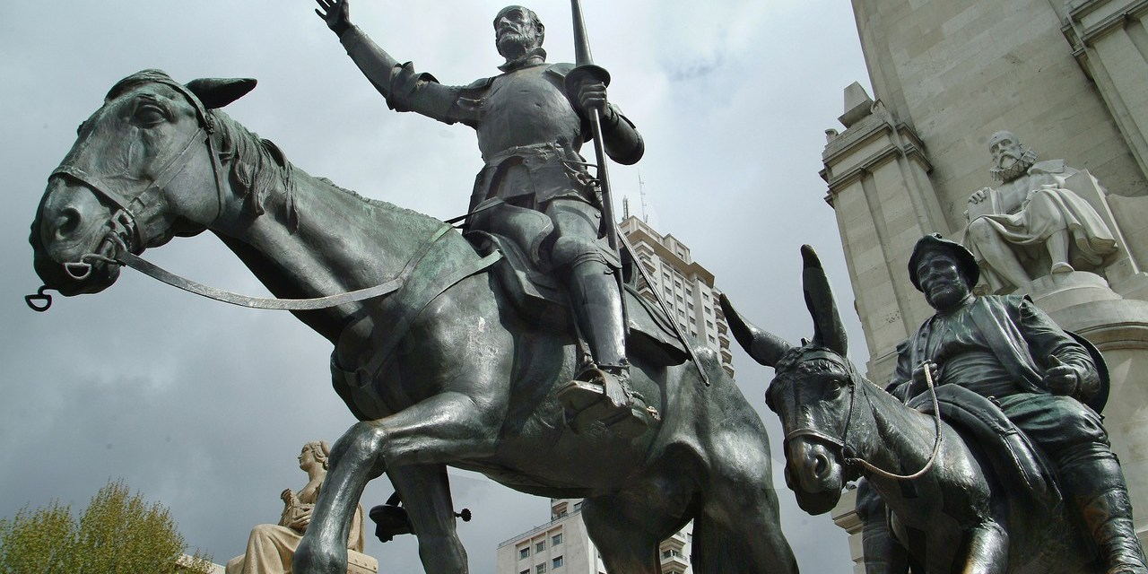 ATG Quirkies: Celebrating the 400th Anniversary of Cervantes Death With a Quirky, but Tasty Statue