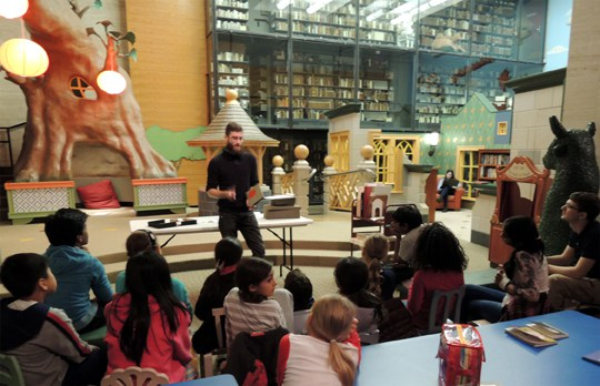 ATG Quirkies: Princeton's Rare Book Room for Kids