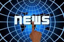 finger on the news