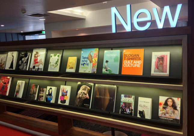 "ATG ""I Wonder"" Wednesday: Does your library have a display area for new book purchases?"