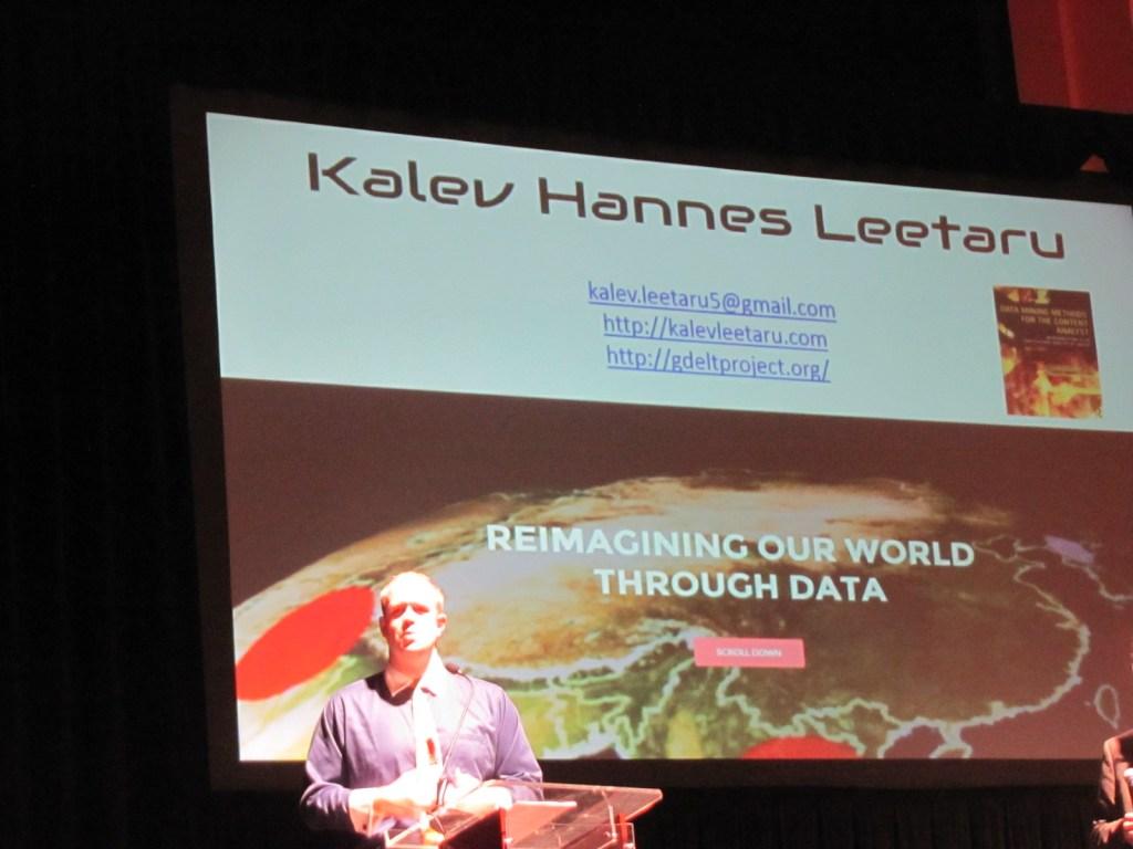 Kalev Leetaru title slide