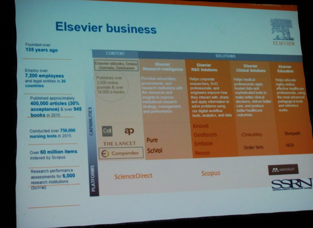 Elsevier's Business