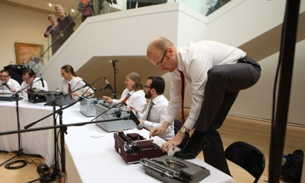 ATG Quirkies: The Boston Typewriter Orchestra