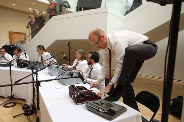 ATG Quirkies: The Boston Typewriter Orchestra