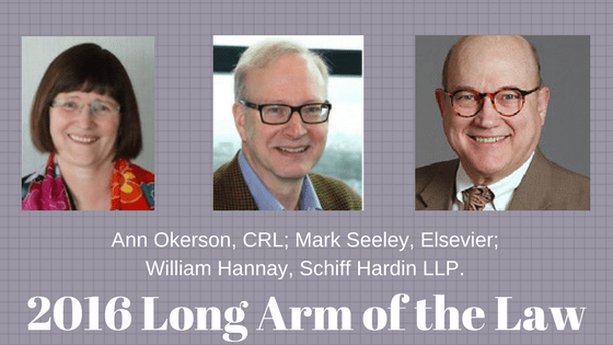 New Podcast Episode: 2016 Long Arm of the Law