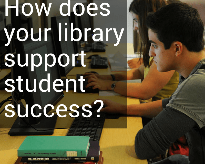 Photo Contest: How does your library support student success?