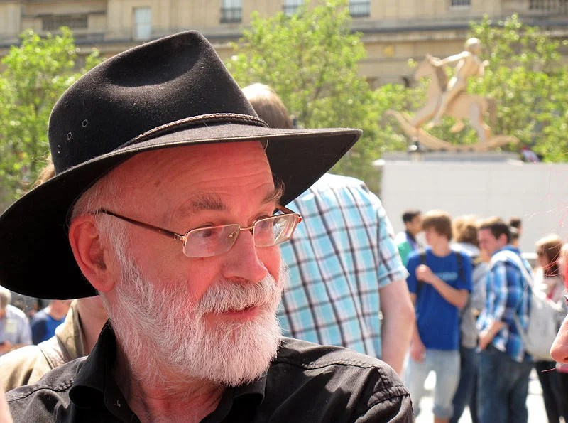 ATG Quirkies: Terry Pratchett: His Own Worst Critic.