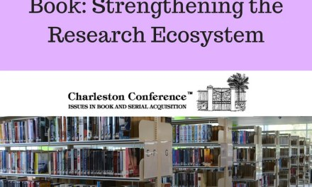 Charleston Conference Spotlight: Future of the Academic Book Preconference