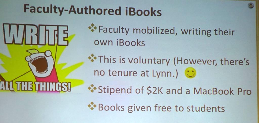 Faculy-Authored iBooks