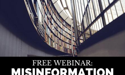 Free Webinar: Misinformation