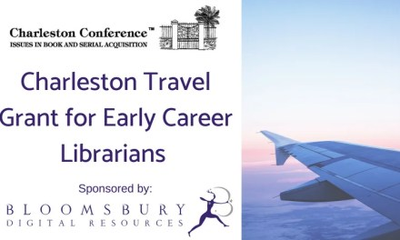 ATG Newsflash: 2018 Charleston Travel Grant for Early Career Librarians – Sponsored by Bloomsbury Digital Resources