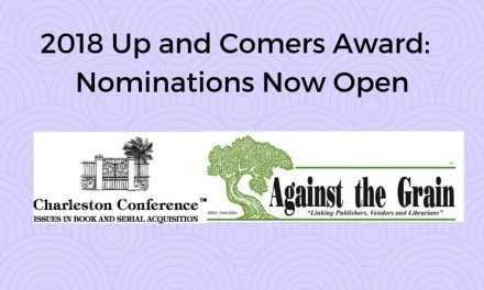 Call for Nominations Now Open for 2018 Up and Comers Award