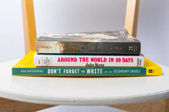 ATG Quirkies: Making Poetry with Book Spines