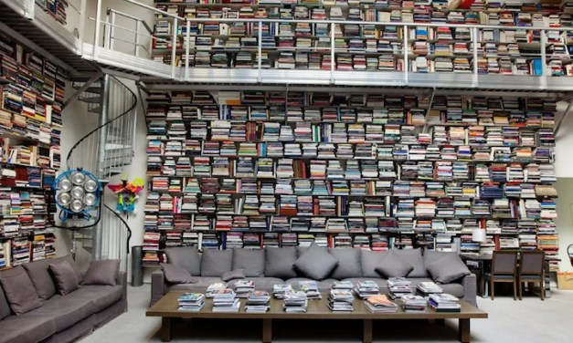 ATG Quirkies: It's hard to stack up to these book hoarders.