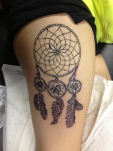 feather_dream-catcher_tattoo