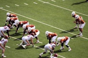 The Texas Longhorns will have to reach over 6.5 wins. Flickr/http://bit.ly/1Di2AD1/Phil Roeder