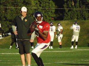 Minnesota Vikings quarterback Teddy Bridgewater will have a tough time this week. Flickr/http://bit.ly/1IFSzB5/Kyle Engman