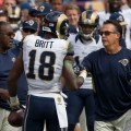 Kenny Britt deserves your attention on the week 10 wide receivers start 'em, sit 'em list. Flickr/http://bit.ly/1NZt4B4/Keith Allison