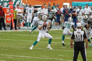 Ryan Tannehill is a risky start this week. Flickr/http://bit.ly/1UJdxef/June Riveria