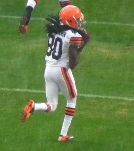 Travis Benjamin has good chemistry with Johnny Manziel so far. Flickr/http://bit.ly/1iKS4Ri/Erik Drost