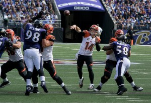 Andy Dalton should be solid in the start/sit week 4 quarterback list. Flickr/http://bit.ly/1ObCfQD/Keith Allison