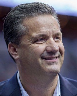 John Calipari should lead the Kentucky Wildcats to the Final Four out of the South region. Flickr/Keith Allison